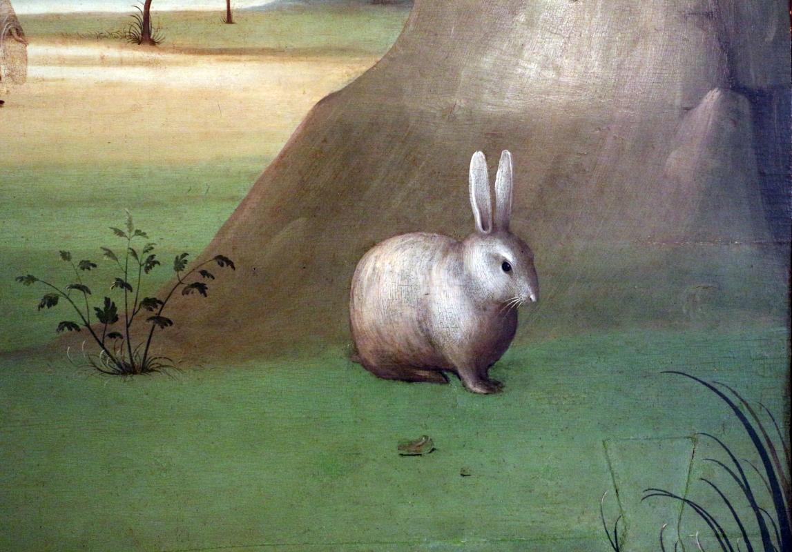 Maestro della maddalena assunta, ascensione di maria maddalena, 1500-10 ca., da s. andrea a ferrara 04 coniglio - Sailko - Ferrara (FE)
