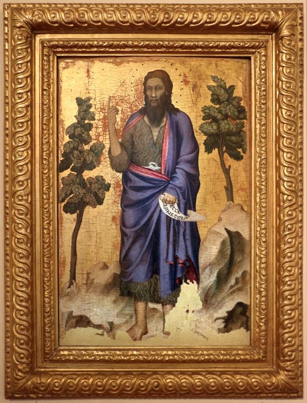 Maestro di figline, san giovanni battista, 1310-50 ca. 01 - Sailko - Ferrara (FE)