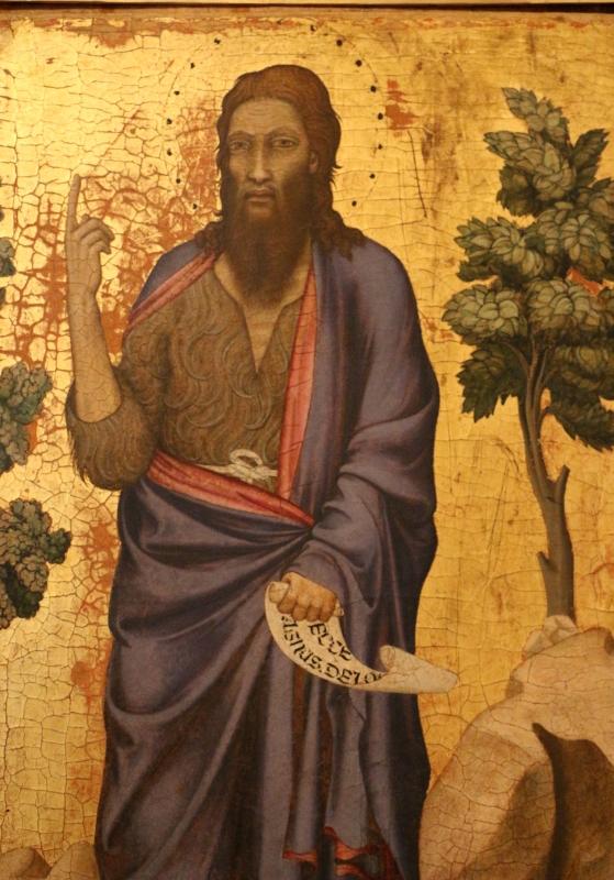 Maestro di figline, san giovanni battista, 1310-50 ca. 02 - Sailko - Ferrara (FE)