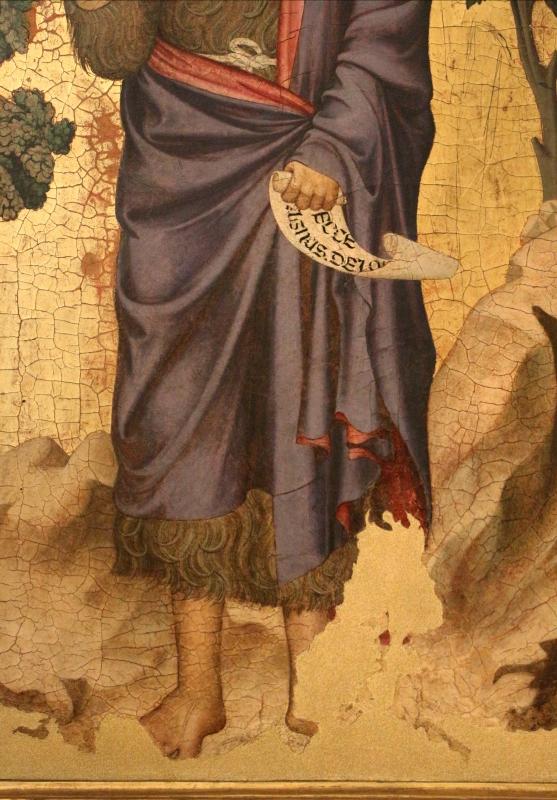 Maestro di figline, san giovanni battista, 1310-50 ca. 03 - Sailko - Ferrara (FE)