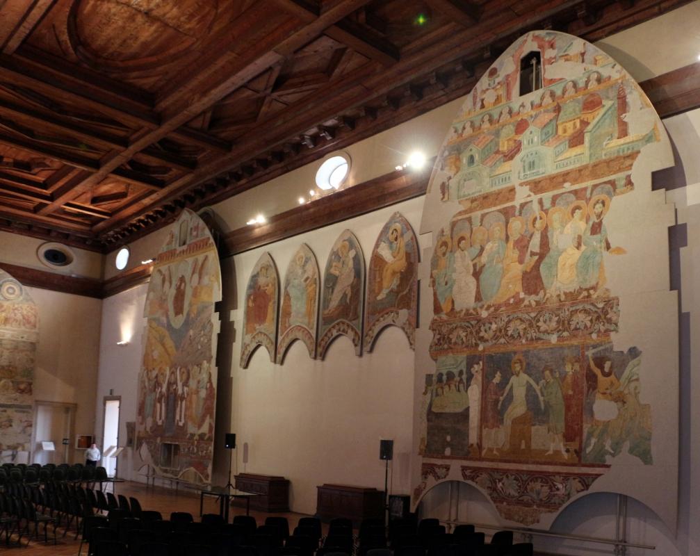Maestro di san bartolomeo, ascensione, apostoli, storie di s. bartolomeo ed evangelisti, da s. bartolomeo a ferrara, 1264-90 ca. 01 - Sailko - Ferrara (FE)