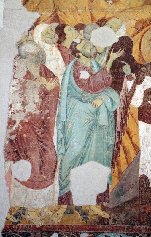 Maestro di san bartolomeo, ascensione, apostoli, storie di s. bartolomeo ed evangelisti, da s. bartolomeo a ferrara, 1264-90 ca. 06 - Sailko - Ferrara (FE)