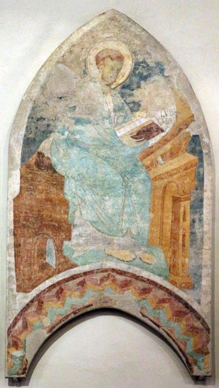Maestro di san bartolomeo, ascensione, apostoli, storie di s. bartolomeo ed evangelisti, da s. bartolomeo a ferrara, 1264-90 ca. 12 - Sailko - Ferrara (FE)
