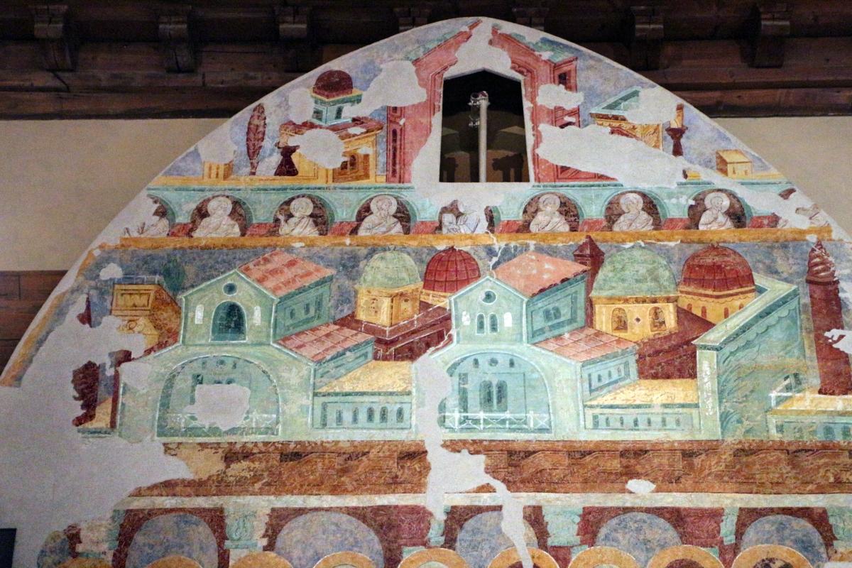 Maestro di san bartolomeo, ascensione, apostoli, storie di s. bartolomeo ed evangelisti, da s. bartolomeo a ferrara, 1264-90 ca. 16 - Sailko - Ferrara (FE)