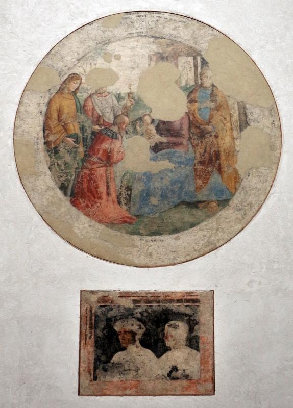 Michele coltellini, garofalo e nicolò pisano, storie della vergine e ritratti di committenti, 1499, dall'oratorio di s.m. della concezione o della scala a ferrara 05 - Sailko - Ferrara (FE)
