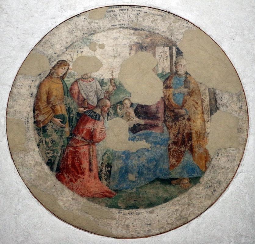 Michele coltellini, garofalo e nicolò pisano, storie della vergine e ritratti di committenti, 1499, dall'oratorio di s.m. della concezione o della scala a ferrara 06 - Sailko - Ferrara (FE)