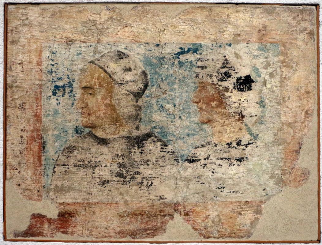 Michele coltellini, garofalo e nicolò pisano, storie della vergine e ritratti di committenti, 1499, dall'oratorio di s.m. della concezione o della scala a ferrara 19 - Sailko - Ferrara (FE)