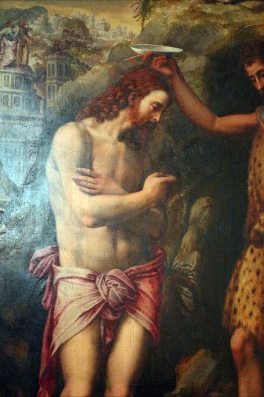 Michele tosini, battesimo di cristo, 02 - Sailko - Ferrara (FE)