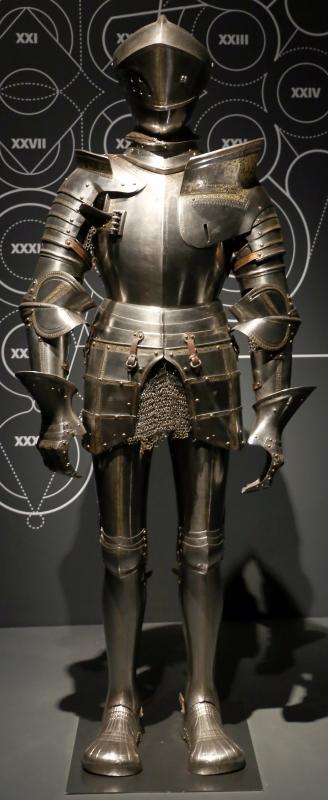Niccolò silva, armatura da giostra e da battaglia, 1510-15 ca. (musée de l'armée) 01 - Sailko - Ferrara (FE)