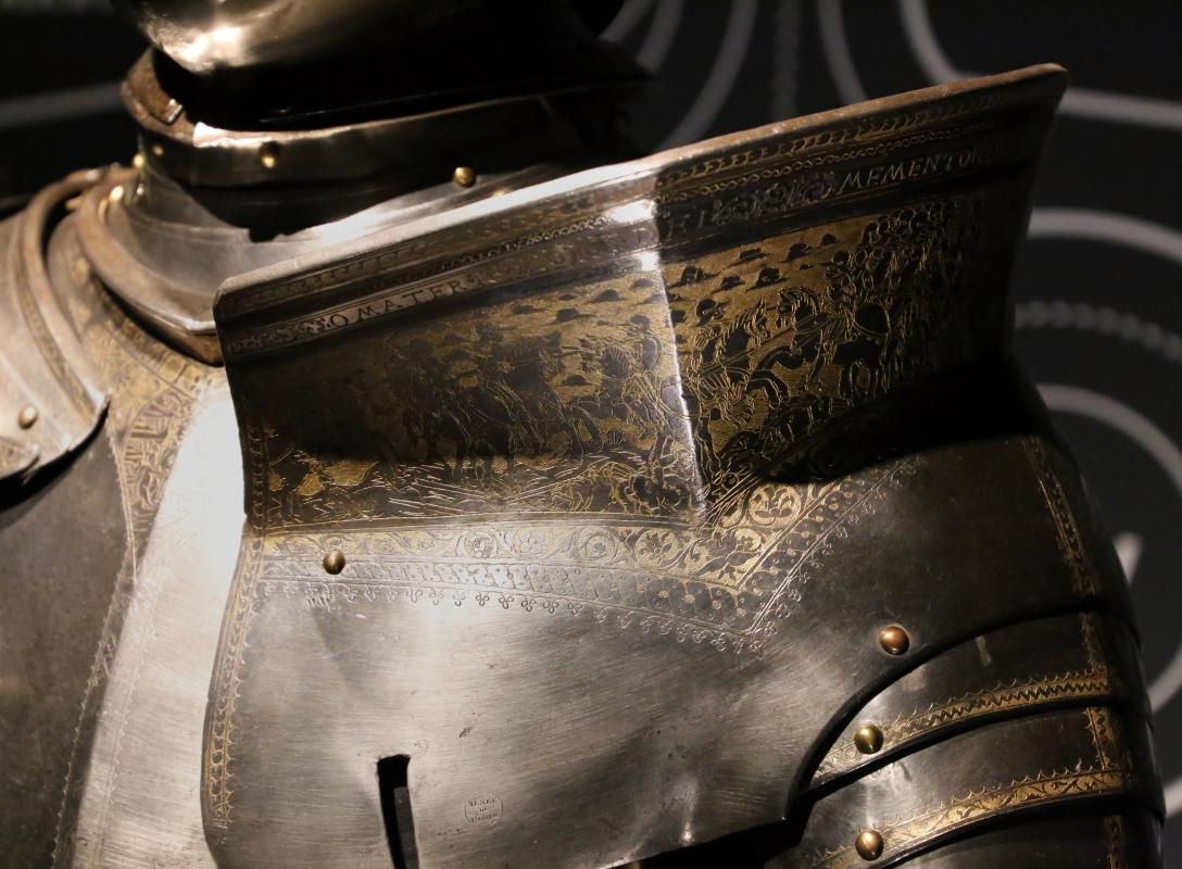 Niccolò silva, armatura da giostra e da battaglia, 1510-15 ca. (musée de l'armée) 02 - Sailko - Ferrara (FE)