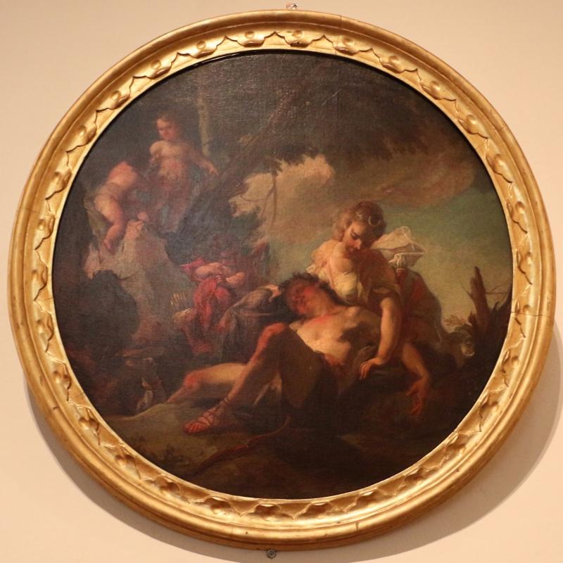 Nicola grassi (attr.), diana ed endimione, 1700-40 ca - Sailko - Ferrara (FE)