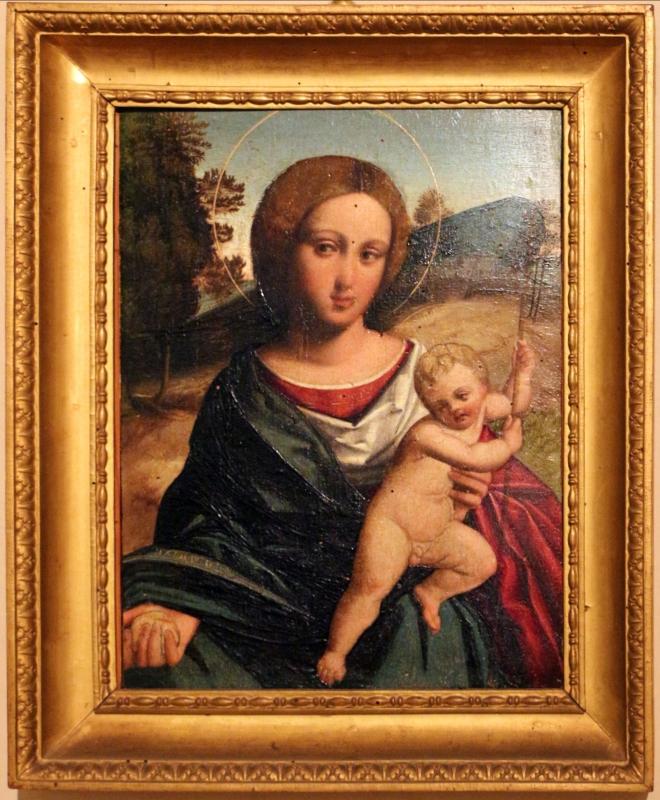 Ortolano (bottega), madonna col bambino, 1500-25 ca - Sailko - Ferrara (FE)