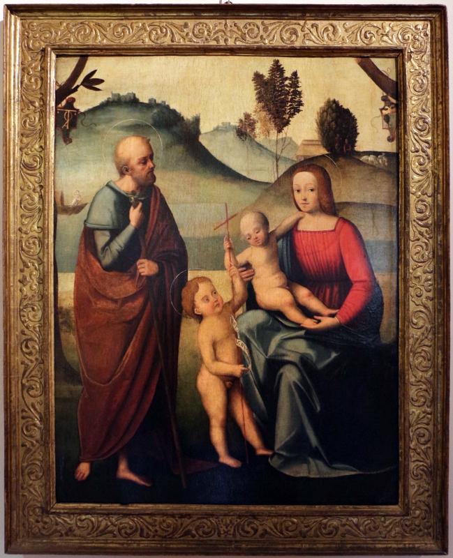 Ortolano, sacra famiglia con san giovannino, 01 - Sailko - Ferrara (FE)