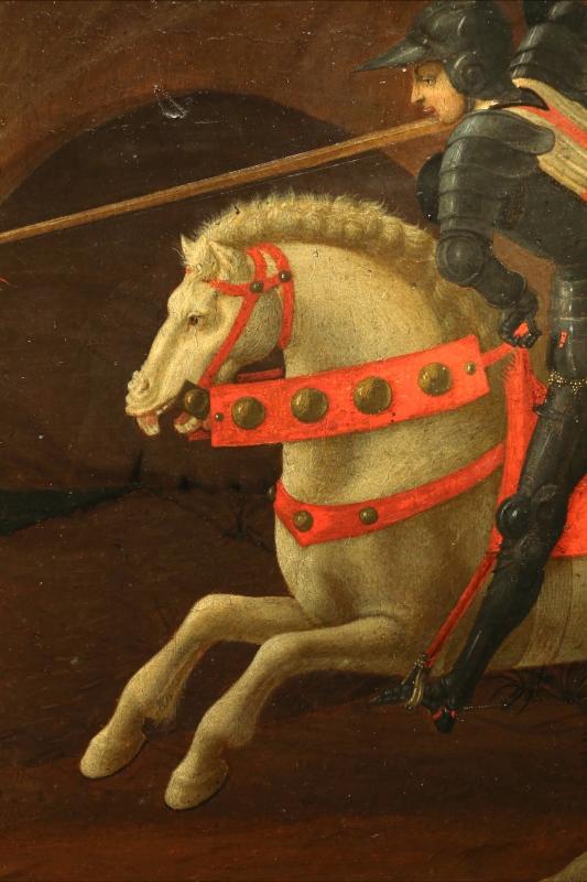 Paolo uccello, san giorgio e il drago, 1440 ca. (jacquemart-andré) 09 - Sailko - Ferrara (FE)