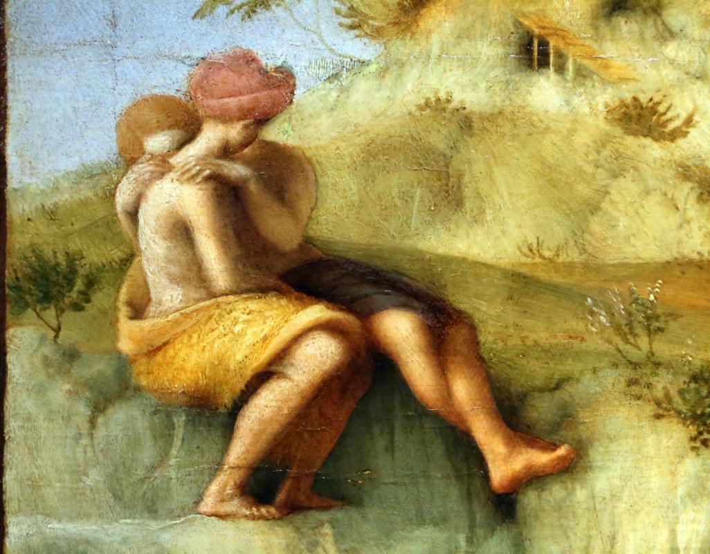 Piero di cosimo, perseo libera andromeda, 1510-13 (uffizi) 03 - Sailko - Ferrara (FE)
