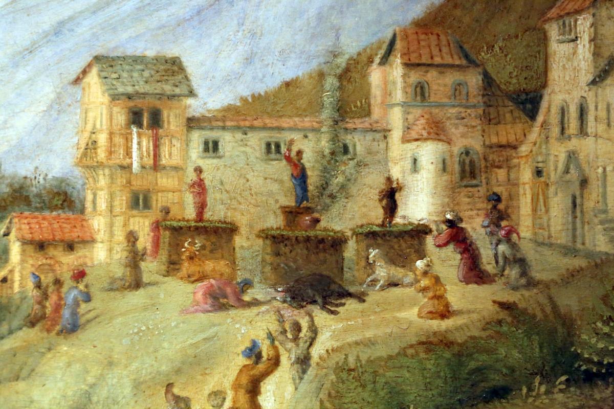Piero di cosimo, perseo libera andromeda, 1510-13 (uffizi) 08 - Sailko - Ferrara (FE)