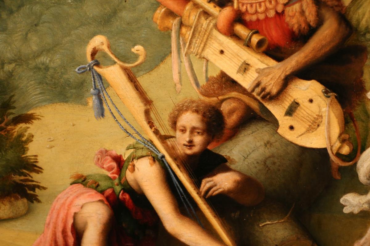 Piero di cosimo, perseo libera andromeda, 1510-13 (uffizi) 13 - Sailko - Ferrara (FE)