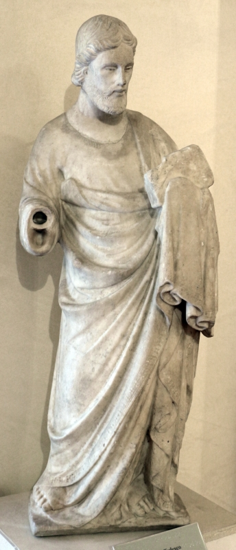Piero di giovanni tedesco, san matteo (forse), 1375-1400 ca - Sailko - Ferrara (FE)