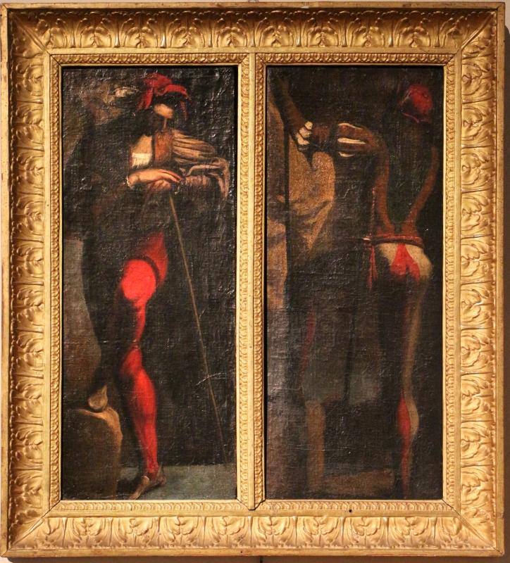 Pietro della vecchia (attr.), due guerrieri - Sailko - Ferrara (FE)