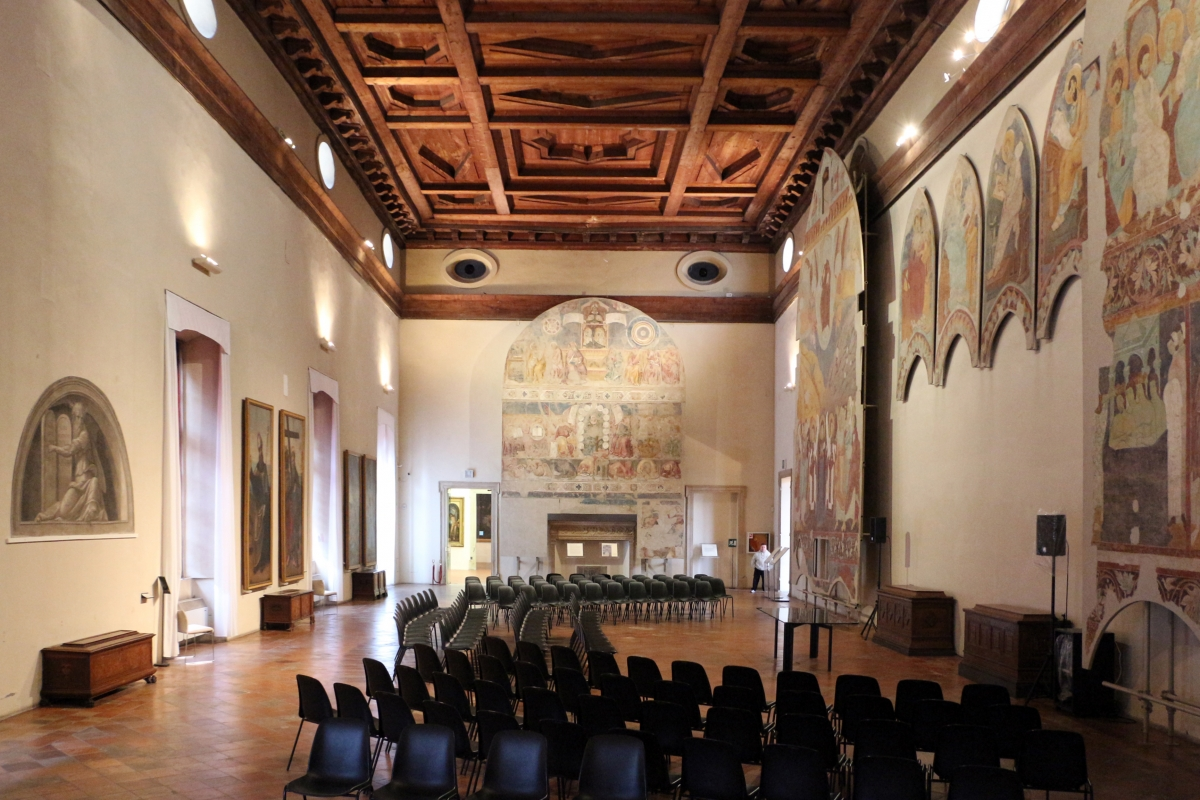 Pinacoteca nazionale di ferrara, salone di palazzo dei diamanti 03 - Sailko - Ferrara (FE)