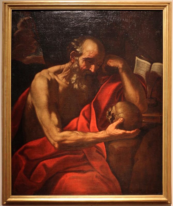 Pittore emiliano, san girolamo, xvii secolo - Sailko - Ferrara (FE)