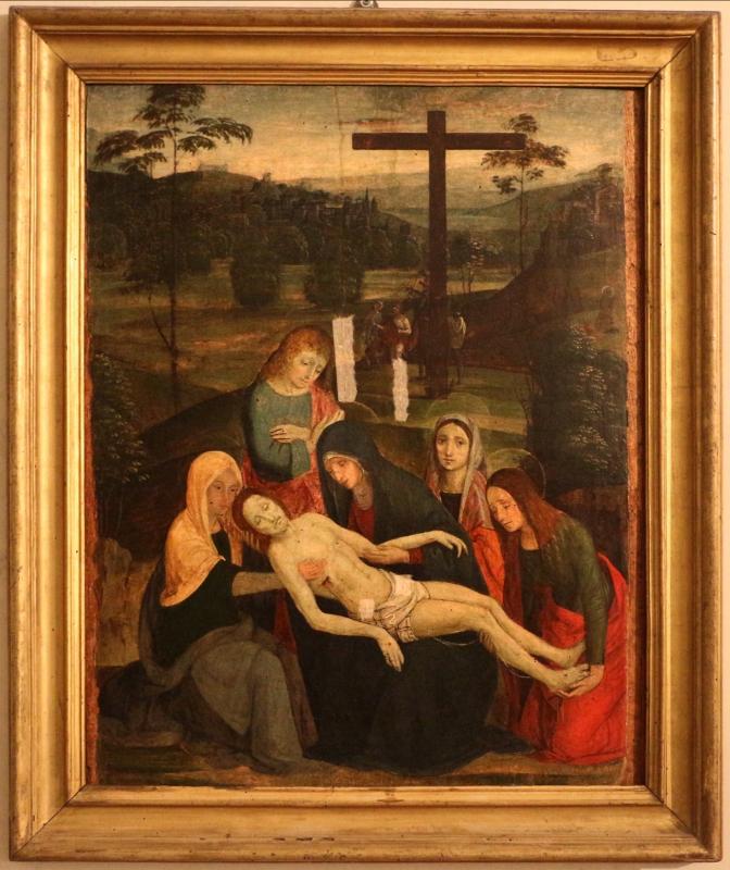 Pittore ferrarese, pietà, 1500-10 ca - Sailko - Ferrara (FE)
