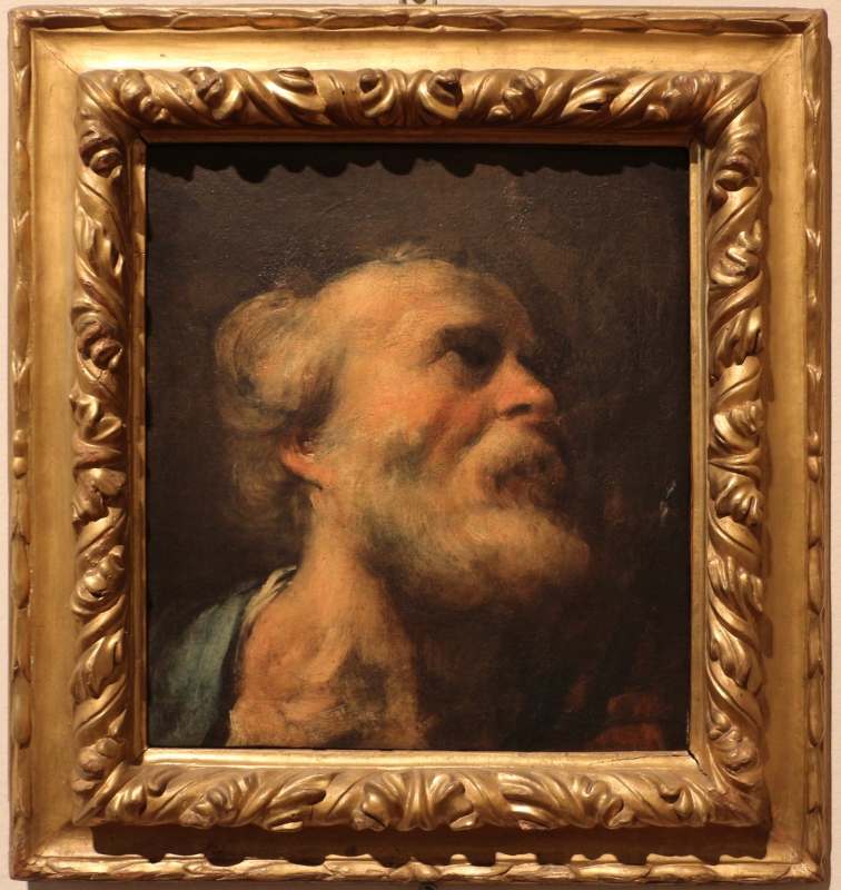Pittore veneto, testa di san pietro, xviii secolo - Sailko - Ferrara (FE)