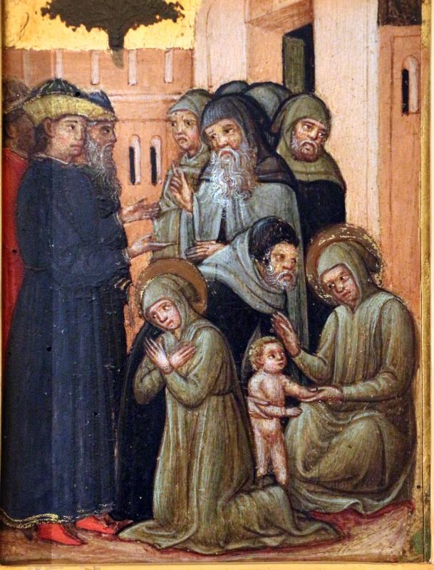 Pittore veneziano, storie di santa marina, 1350 ca. 02 - Sailko - Ferrara (FE)