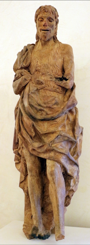 Scultore padovano, san giovanni battista, 1450-1500 ca., da via cortevecchia a ferrara 02 - Sailko - Ferrara (FE)