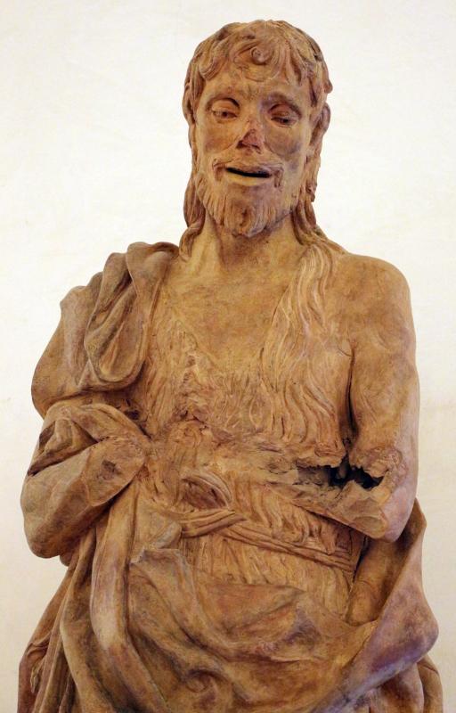 Scultore padovano, san giovanni battista, 1450-1500 ca., da via cortevecchia a ferrara 03 - Sailko - Ferrara (FE)