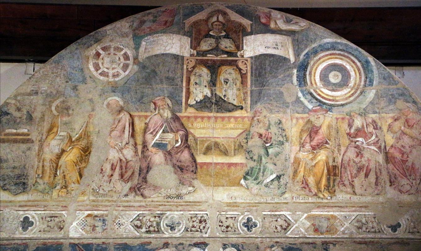 Serafino de' serafini, allegoria di sant'agostino come maestro dell'ordine, 1361-93 ca, da s. andrea a ferrara 02 - Sailko - Ferrara (FE)