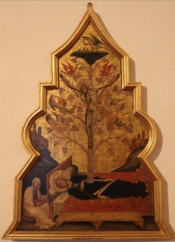 Simone dei crocifissi, sogno della vergine, 1355-90 ca. 01 dal convento del corpus domini a ferrara - Sailko - Ferrara (FE)