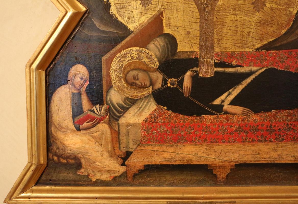 Simone dei crocifissi, sogno della vergine, 1355-90 ca. 03 dal convento del corpus domini a ferrara - Sailko - Ferrara (FE)