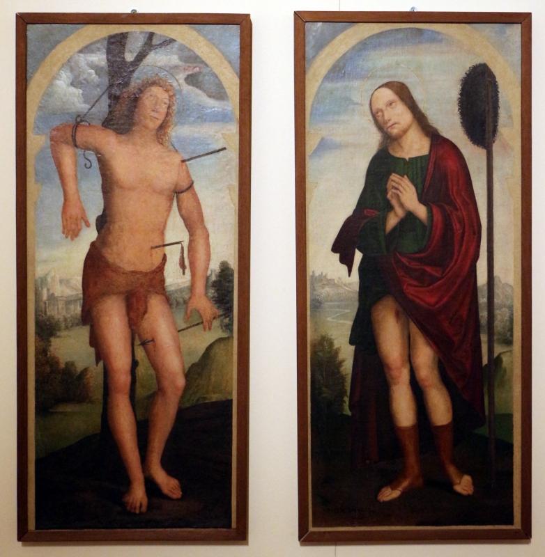 Simone delle spade, santi rocco e sebastiano, 1500-50 ca. (parma) - Sailko - Ferrara (FE)