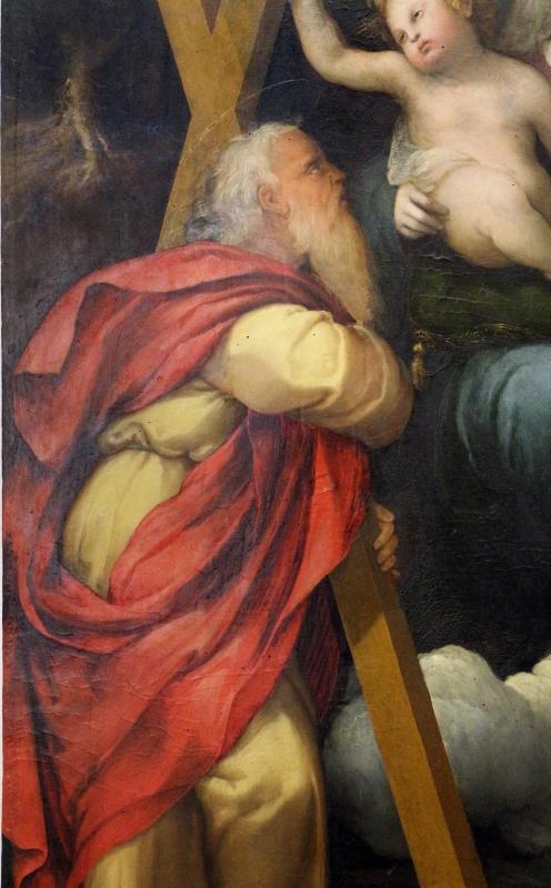 Zenone veronese, immacolata tra i ss. andrea e francesco, 1500-40 ca. 03 - Sailko - Ferrara (FE)