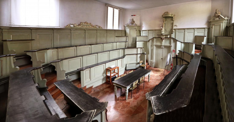 Ferrara, palazzo paradiso, teatro anatomico 01 - Sailko - Ferrara (FE)
