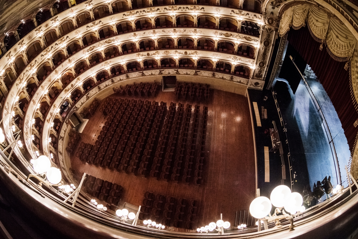 Teatro Comunale Ferrara dall'alto - Francesco-1978 - Ferrara (FE)