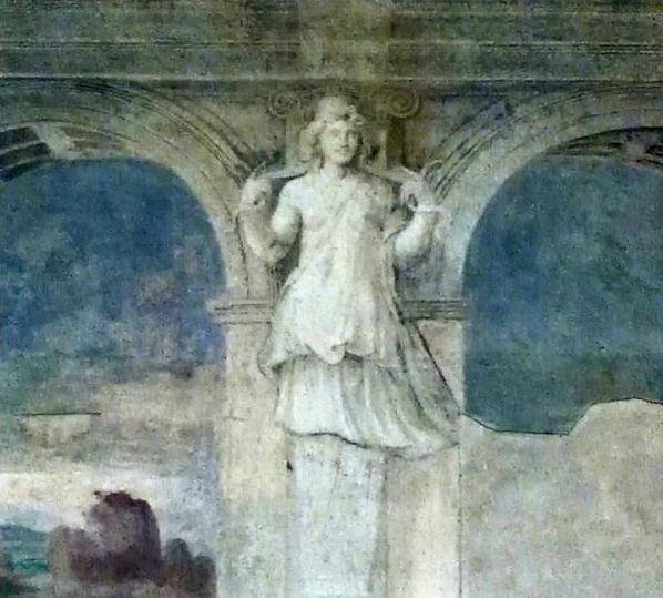 Cariatide nella Sala della Vigna - Alessandro1965B - Voghiera (FE)