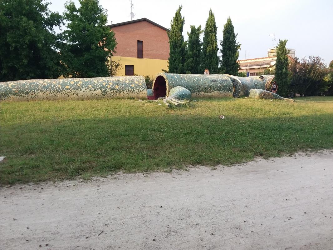 La lucertola - Tirini - Cento (FE)