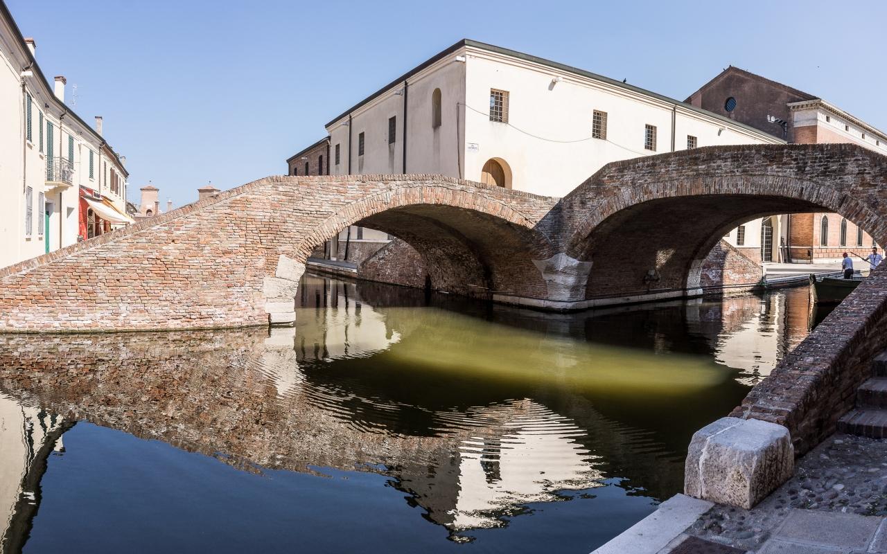 Antiche carceri e Ponte degli Sbirri - Vanni Lazzari - Comacchio (FE)