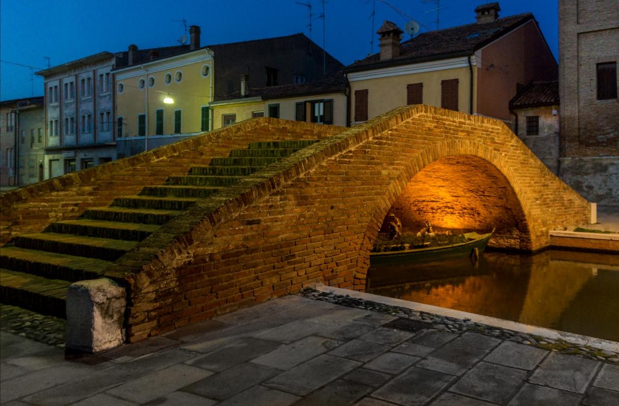 Ponte del Carmine - Vanni Lazzari - Comacchio (FE)