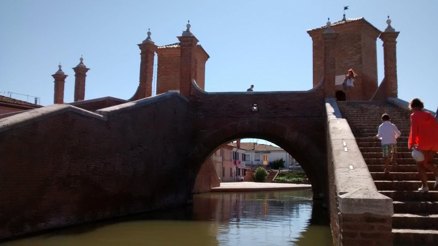 Il tondo sull'acqua - Marmarygra - Comacchio (FE)
