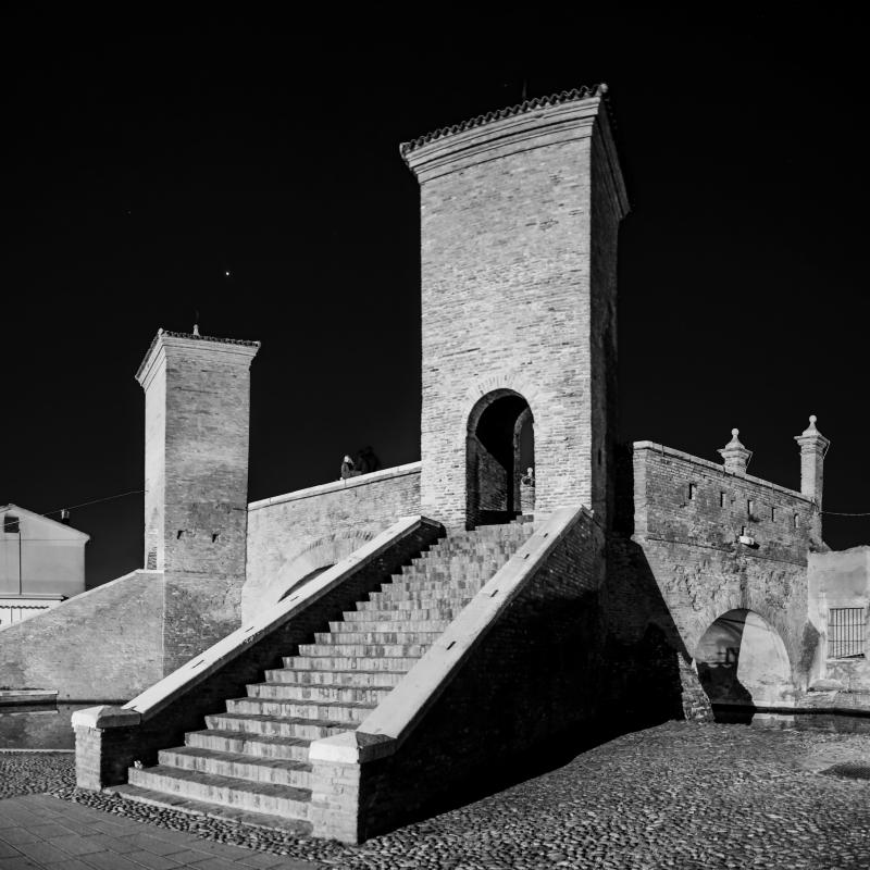 Notturno - Trepponti - Vanni Lazzari - Comacchio (FE)