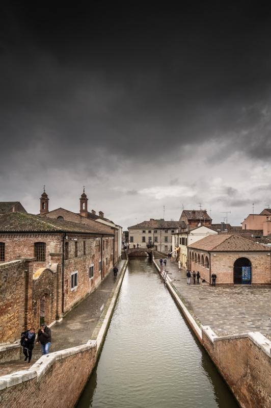 Tempesta a Comacchio - Federico Palestrina - Comacchio (FE)
