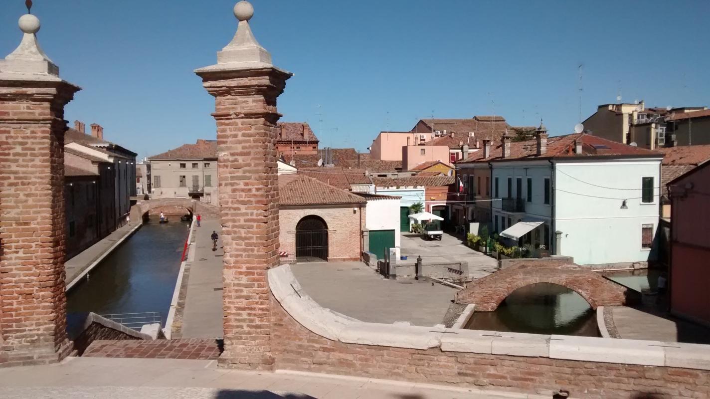 Veduta dai tre ponti - Marmarygra - Comacchio (FE)