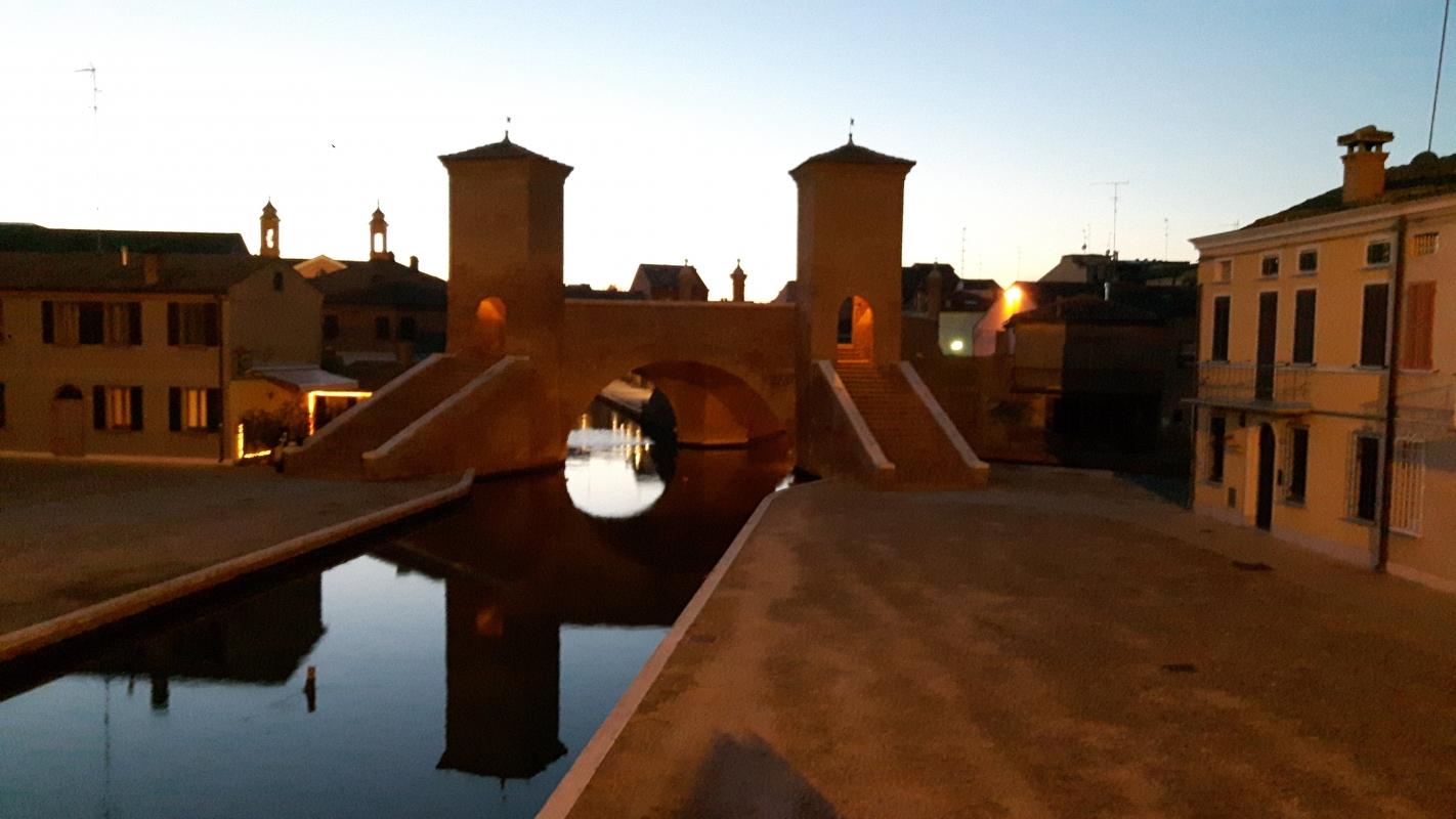 L'ombra dei Tre Ponti - Nataliya Balysheva - Comacchio (FE)