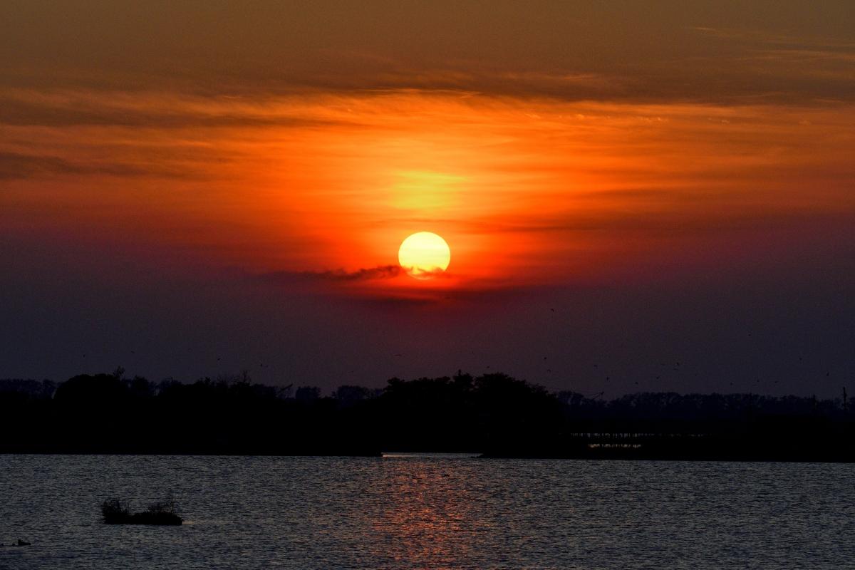 Bettolino di Foce al tramonto - GianlucaMoretti - Comacchio (FE)