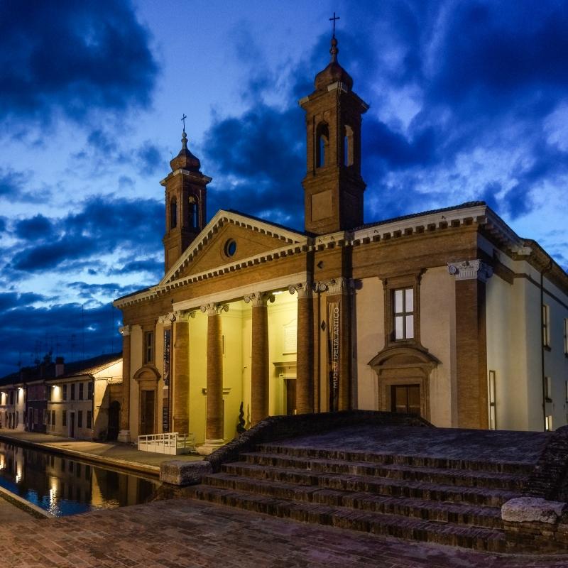 Antico Ospedale degli infermi ora Museo Delta Antico - Vanni Lazzari - Comacchio (FE)