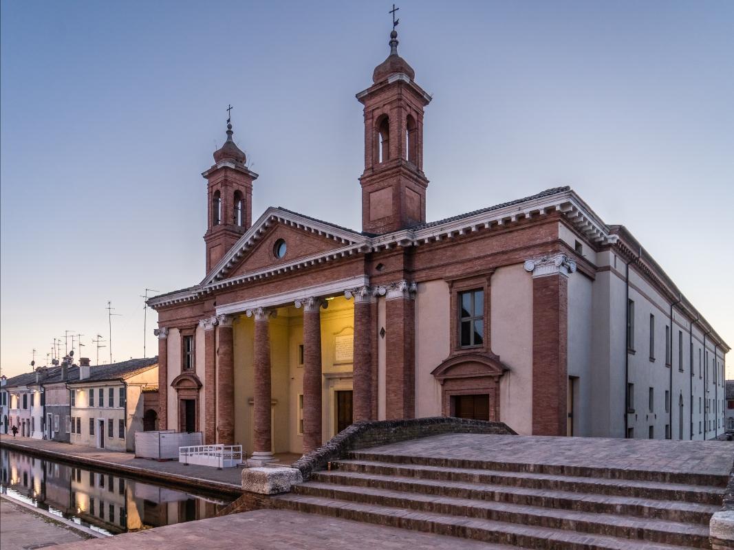 Settecentesco Ospedale degli infermi ora Museo del Delta Antico - Vanni Lazzari - Comacchio (FE)