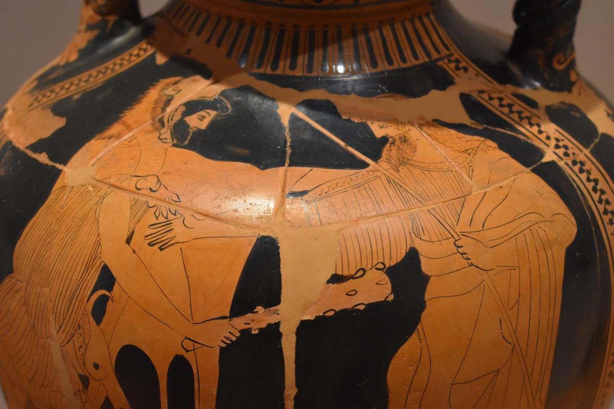Museo Delta Antico (Comacchio) 03 Eracle e Nereo - Nicola Quirico - Comacchio (FE)